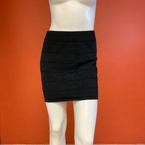 Stripe Textured Skirt